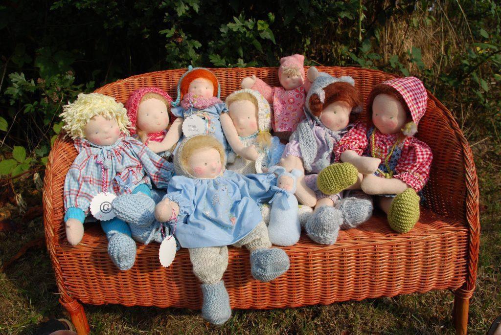 Meine Puppenfamilie