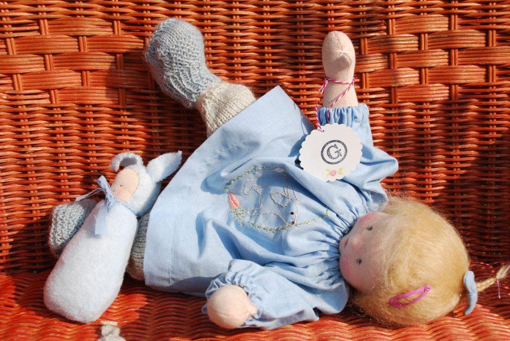 Gliederpuppe BABY-BO